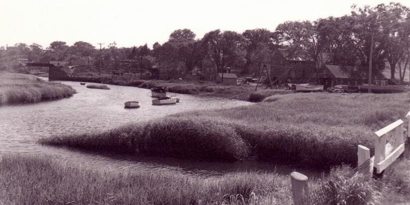 Historic view of Jones River Landing